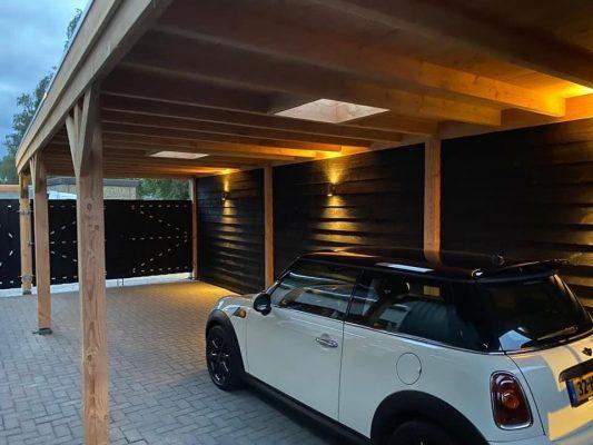 douglas carport verlichting